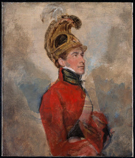 An Officer of the Life Guards by George Jones (1815)
