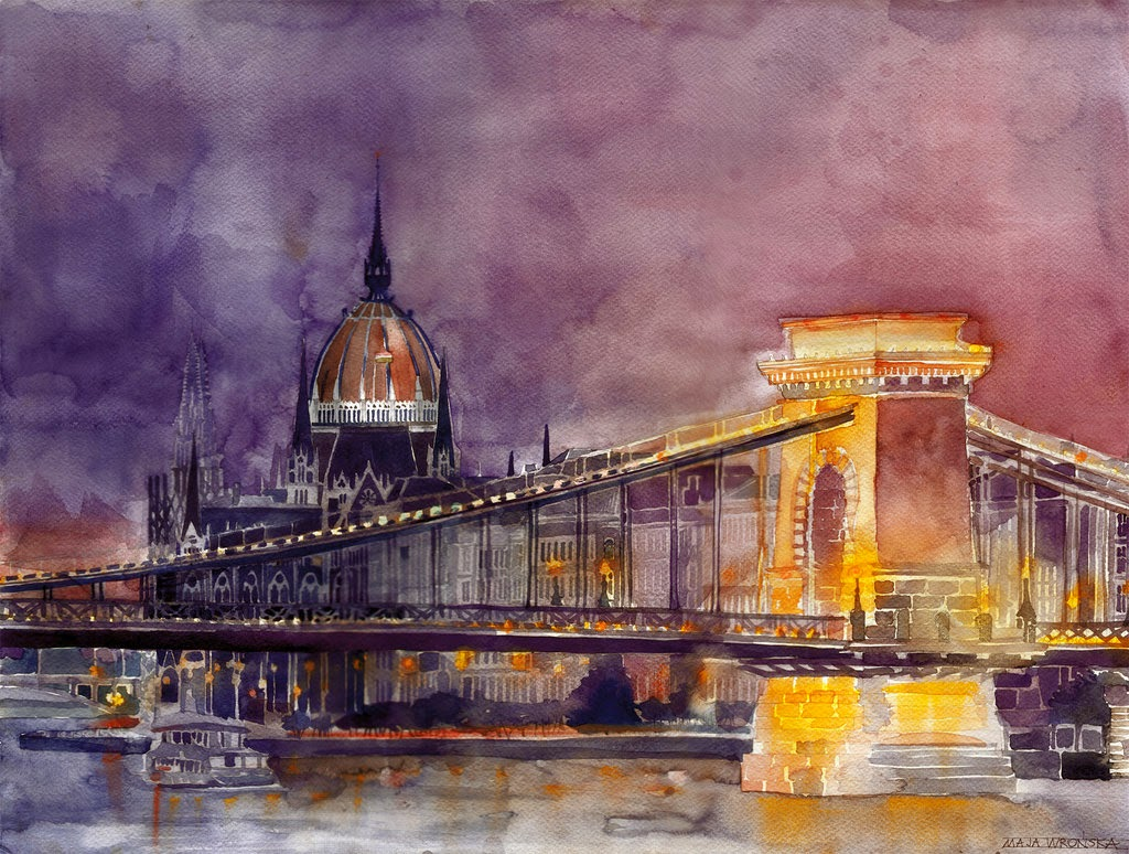 04-Budapest-Maja-Wronska-Travels-Architecture-Paintings-www-designstack-co