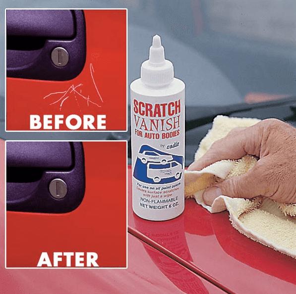 Cara mengatasi cat mobil tergores