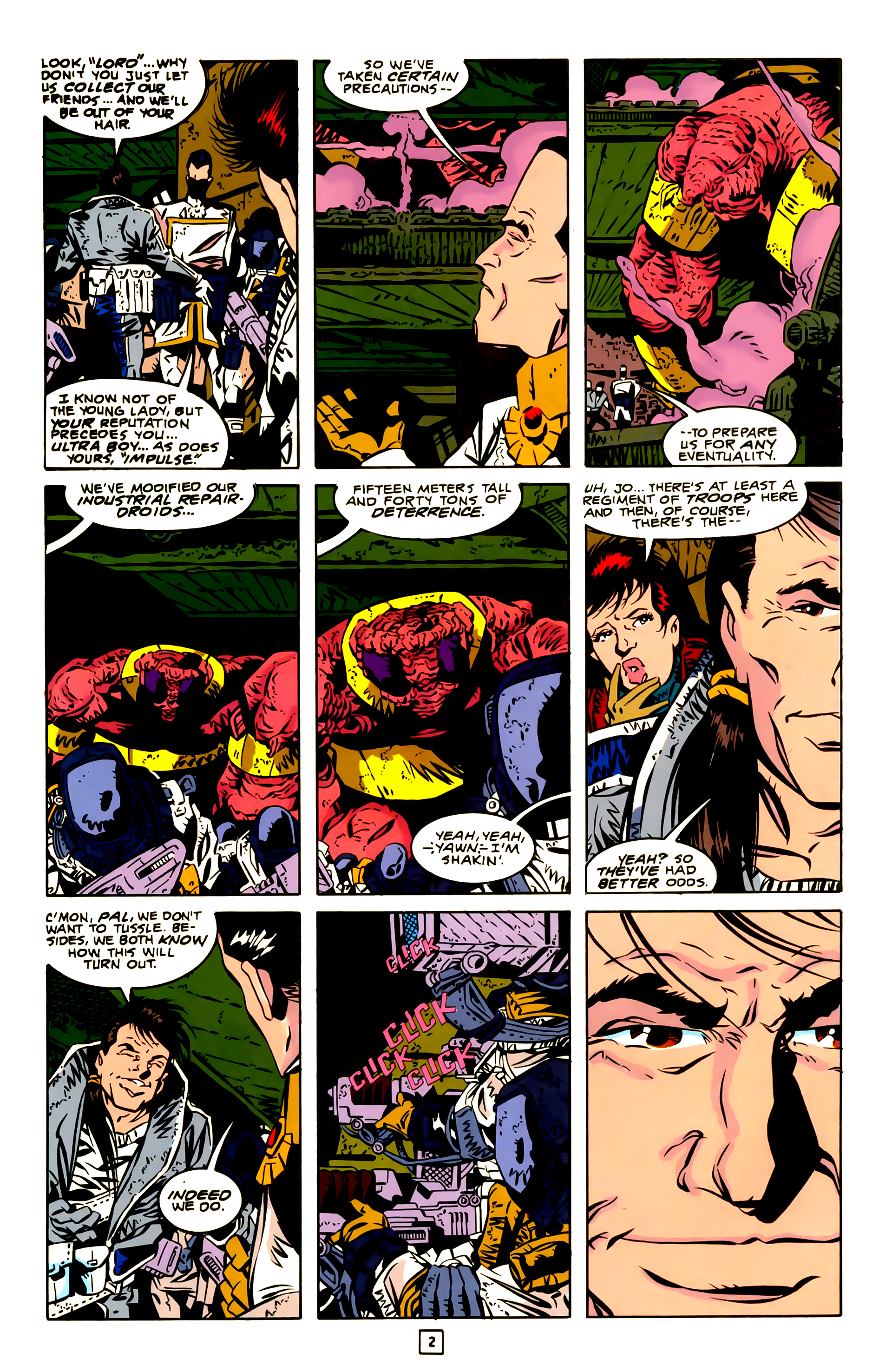 Legion of Super-Heroes (1989) 23 Page 2