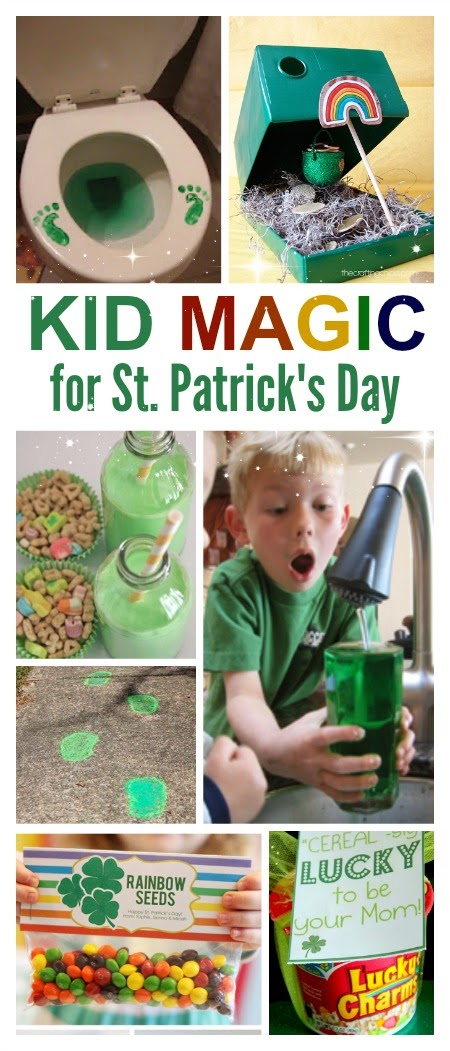 10 magical ways to celebrate St. Patrick's Day with kids #stpatricksday #stpatricksdayactivities #kidsactivities