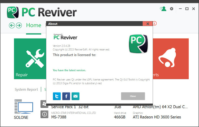 Descargar ReviverSoft PC Reviver