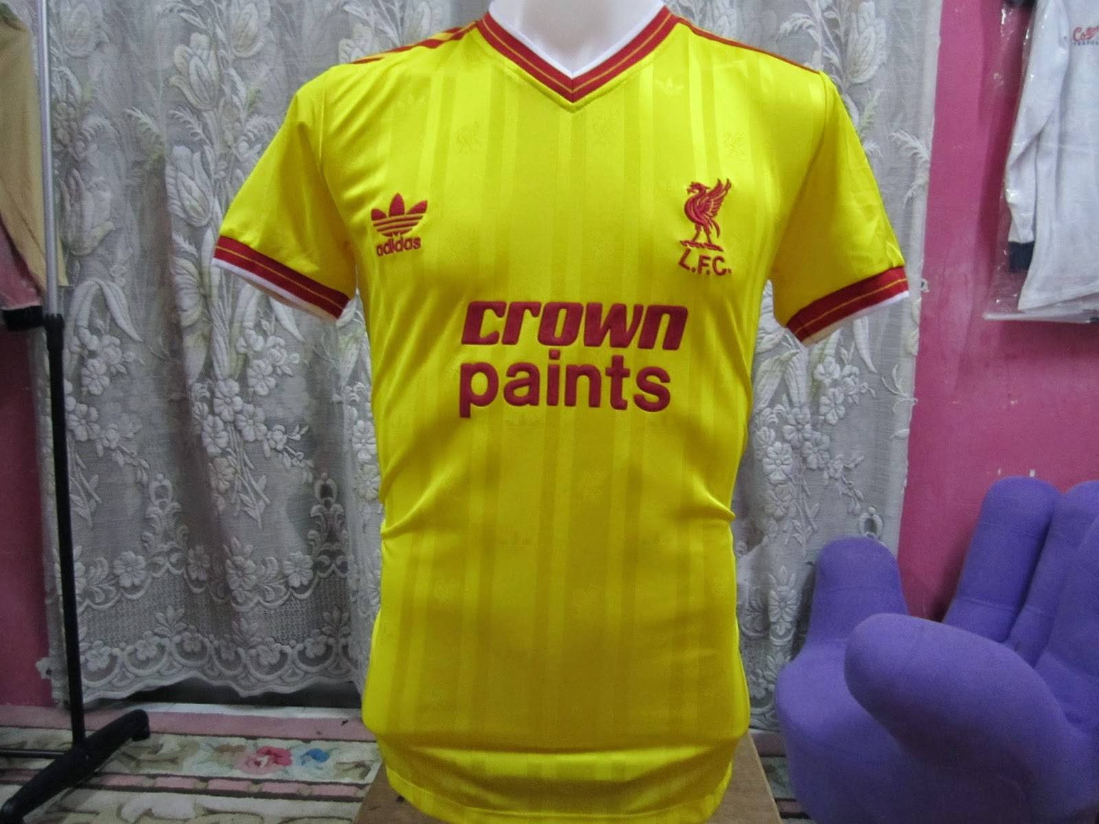 7fa4f6636 BundleWalla  Vintage Liverpool Third Away Jersey 1986 SOLD