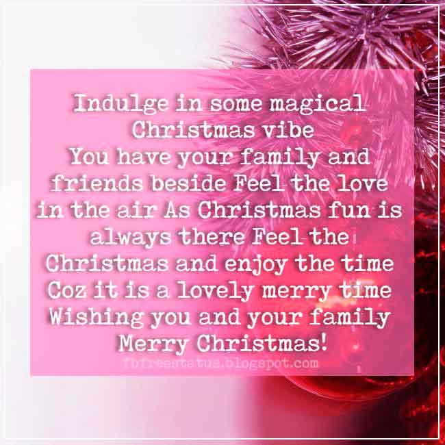 Christmas saying for cards greeting