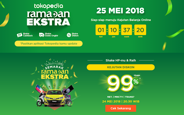 Ketagihan Belanja Online di Tokopedia