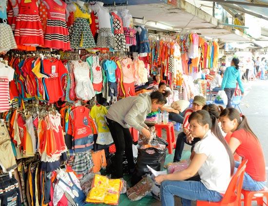 Shop bán quần áo trẻ em