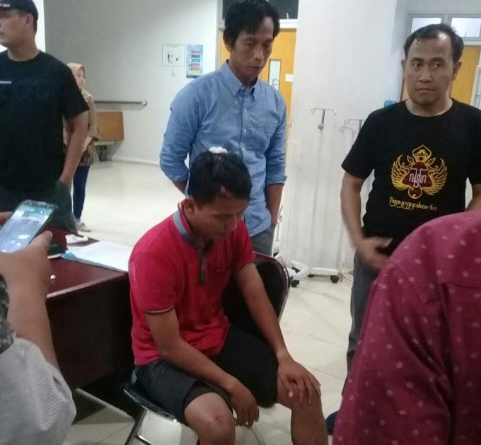 Seorang Anggota TNI Babak Belur Dikeroyok Massa yang Pulang Kampanye