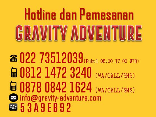 Hubungi Arung Jeram Bandung Gravity Adventure