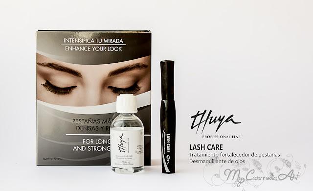 Base fortalecedora de pestañas y desmaquillante de ojos de Thuya Shop.