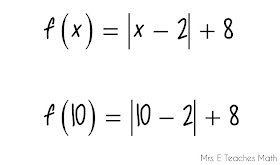Mrs. E Teaches Math: How I Teach Function Notation