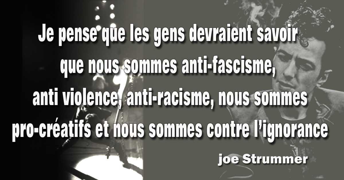 Assez Joe Strummer - The Clash - Citation et Photos | Auguste Marshal FO76