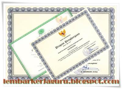 Format Excel Untuk Membuat Piagam Penghargaan