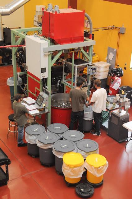 coffee warehouse equipment