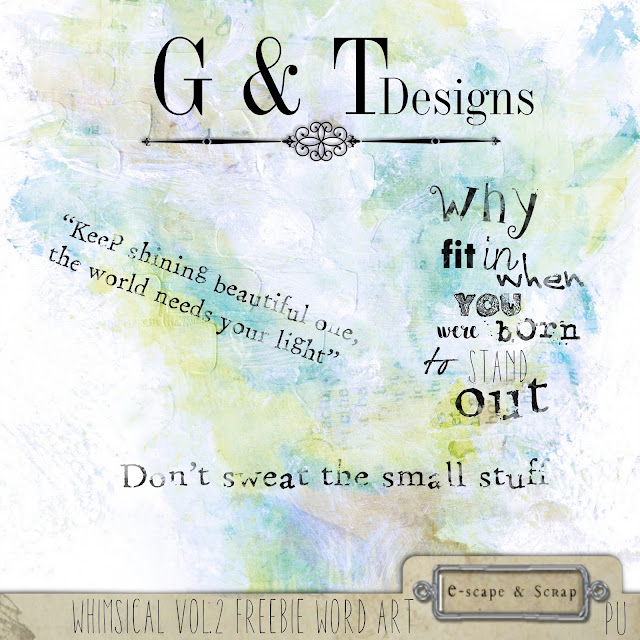 G&T Designs Whimsical Vol.2 & Freebies