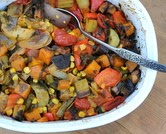 May - Tourlou Tourlou (Greek Baked Vegetables)