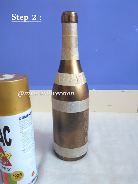 DIY : Wine Bottle Decorations