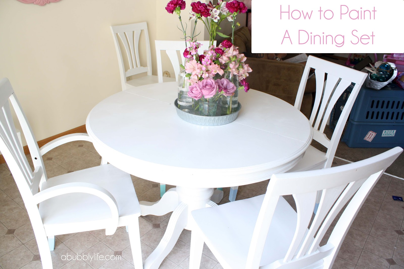 Can you paint a dining room table