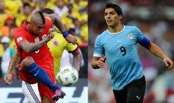 Chile vs Uruguay en Eliminatorias Conmebol   Copa Mundial de Rusia 2018