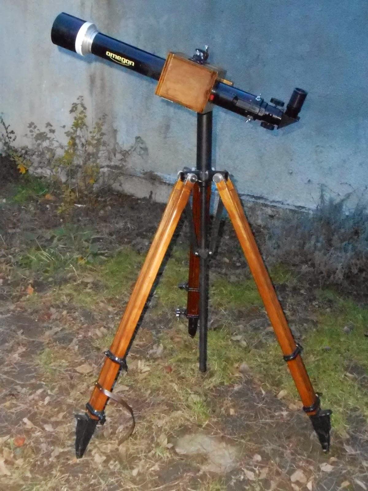 Observo Ergo Sum Home Made Small Telescopes On My