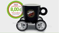 Logo Caffè Vergnano: buoni da 3,50 e fino a 8 euro e vinci 1000 euro in buoni carburante