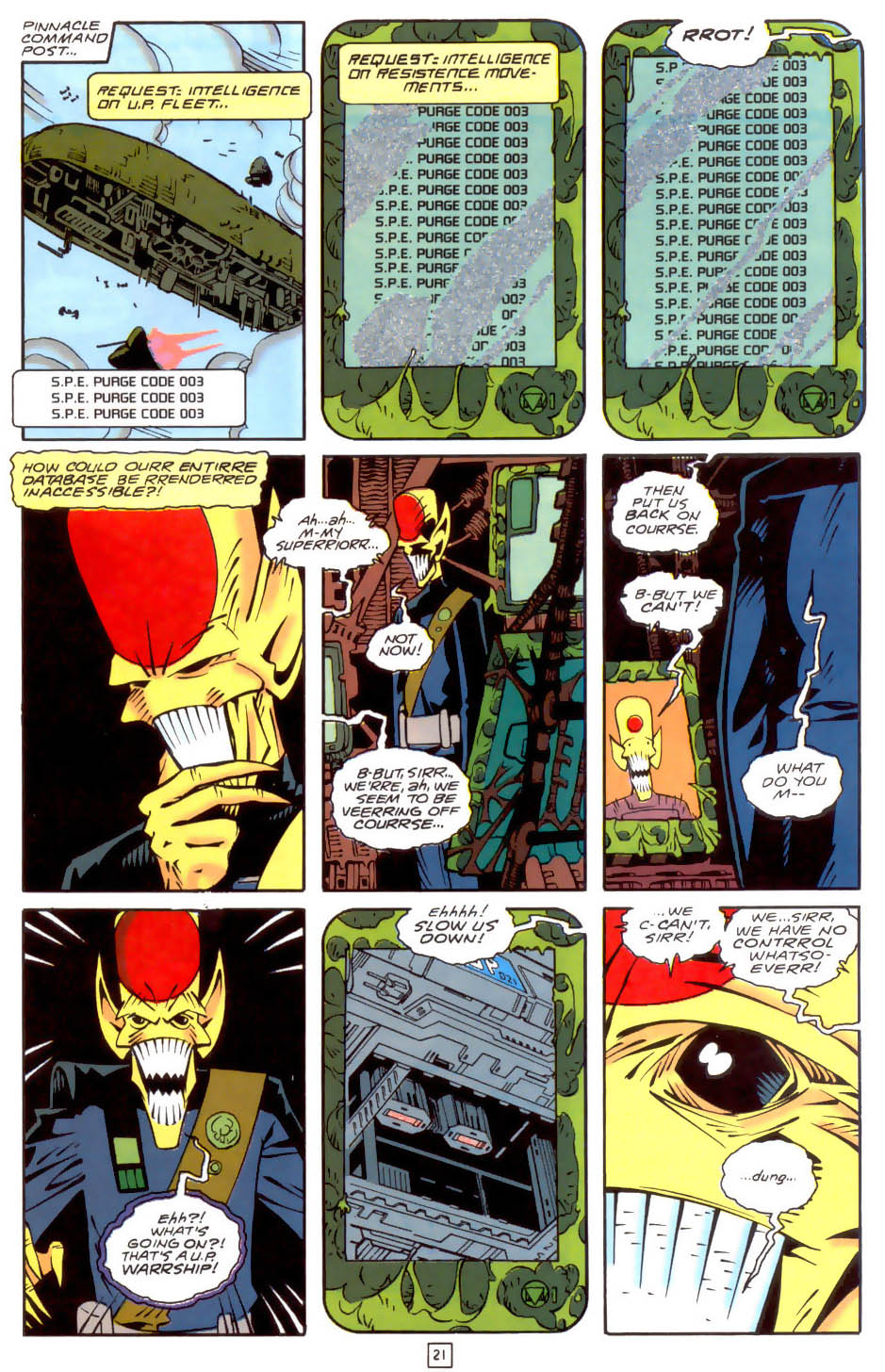 Legion of Super-Heroes (1989) 34 Page 21