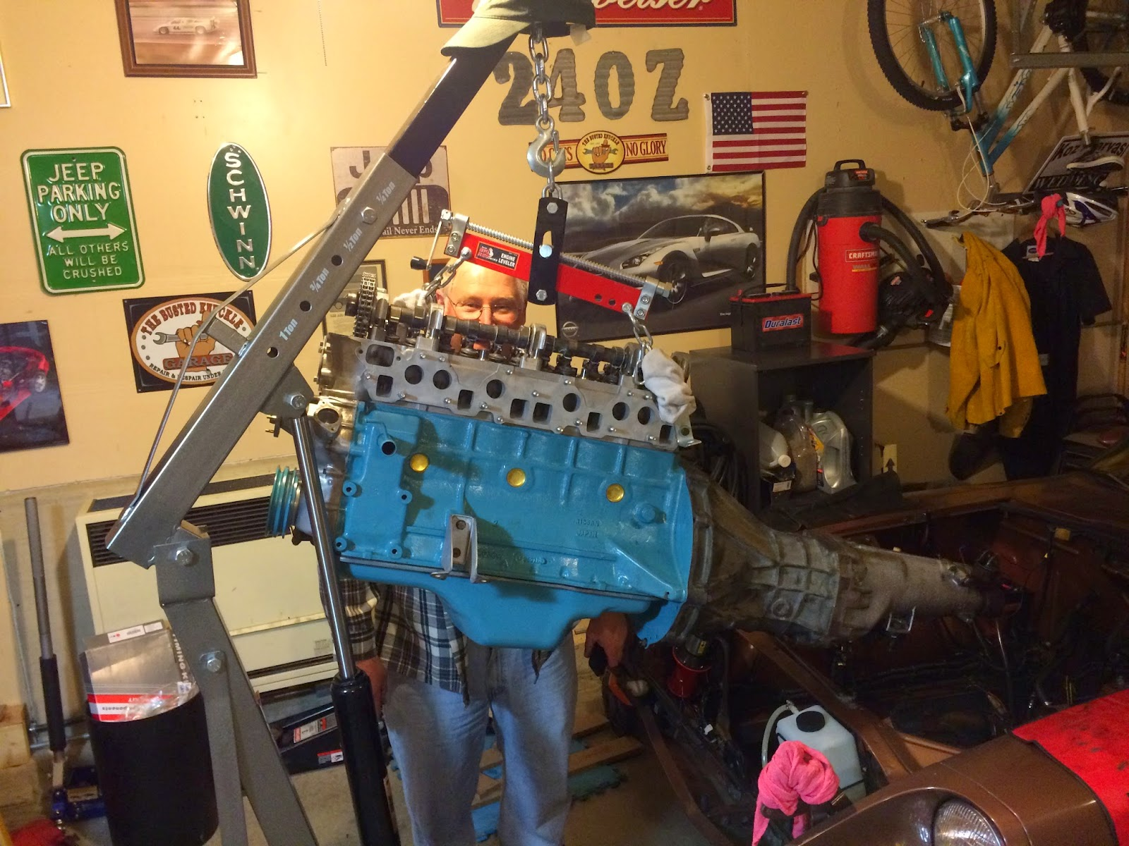 Lifting engine & tranny from the side? - Engine & Drivetrain