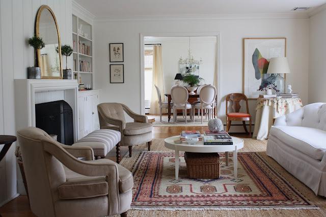 Living Room via Meet Me in Philadelphia