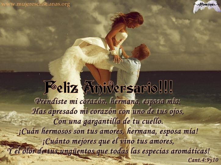 Frases Aniversario De Bodas: Feliz Aniversario Esposa