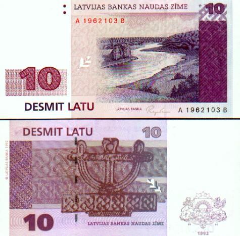 Mata Uang Latvia