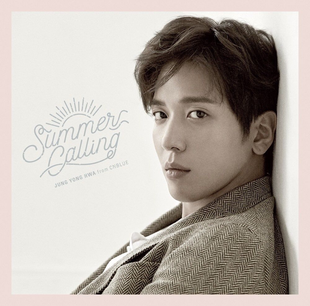 Album JUNG YONG HWA Summer Calling Japanese MP3