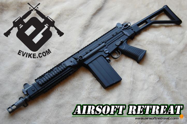 Matrix/QP FAL SA58 OSW AEG | Booligan's Airsoft Reviews