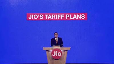 JIO tariff plans