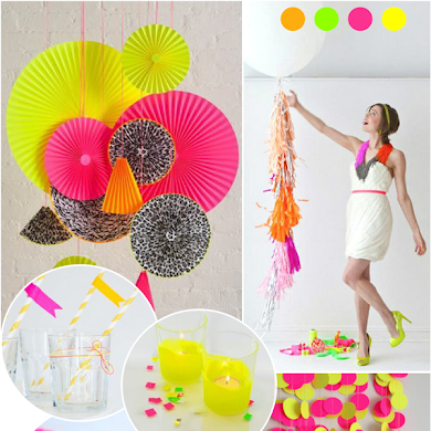Paint My Party | Inspiration de fête NEON