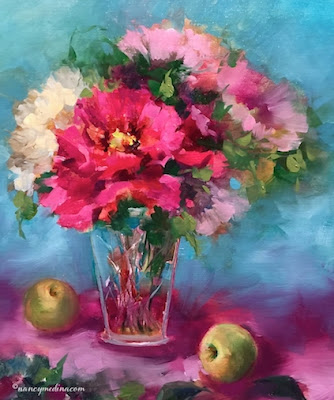 http://www.nancymedina.com/available-paintings/peonies-in-cut-glass