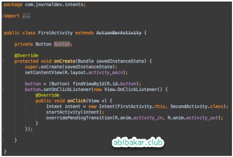 Cara Membuat Tombol Aplikasi Android Studio