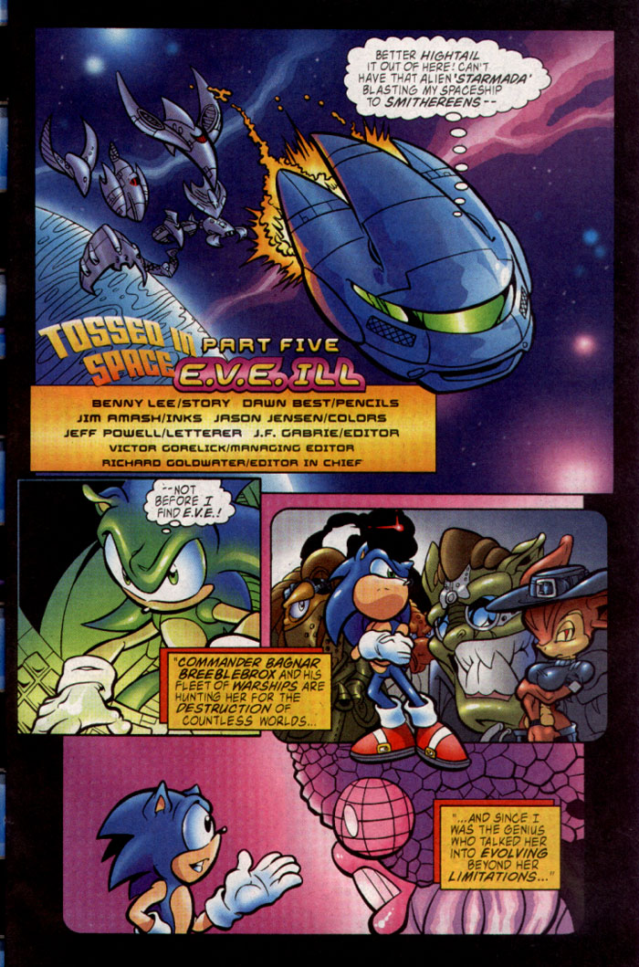 Read online Sonic The Hedgehog comic -  Issue #128 - 9