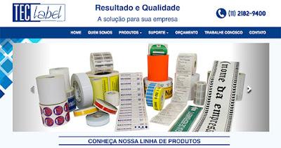 Soluções em Etiquetas Adesivas