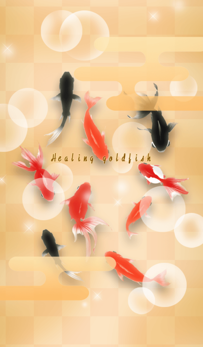 Healing goldfish *