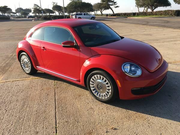 2014 Volkswagen Red Beetle