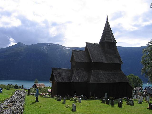 Urnes chiesa legno Norvegia