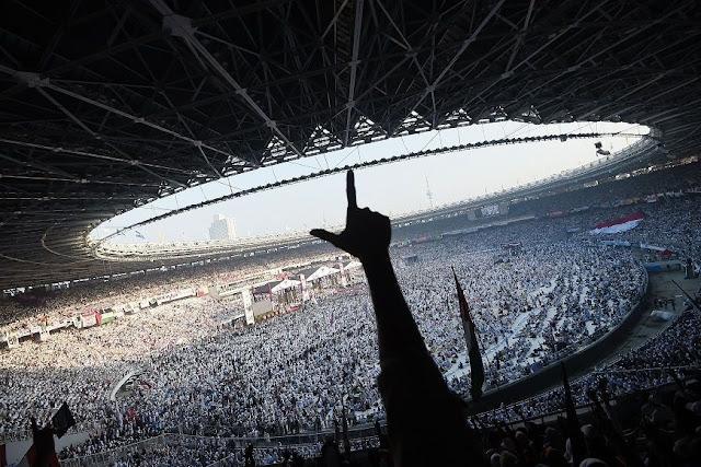 Pak Jokowi, Pilpres Ini Dikawal Bala Tentara Allah