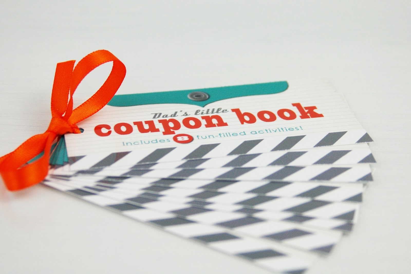 fathers day coupon book printable by jen gallacher from wwwjengallachercom includes