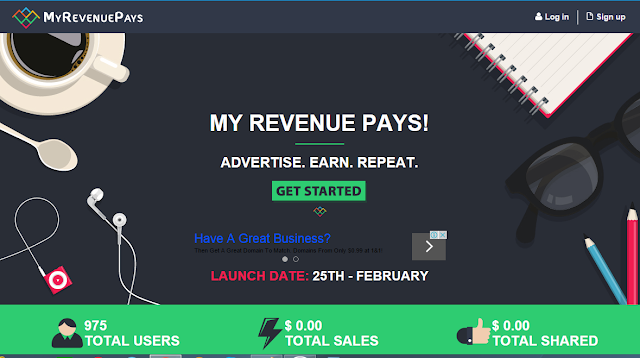 My Revenue Pays Review - myrevenuepays.com