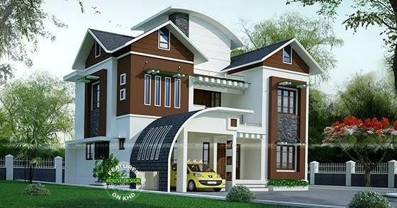 Kerala Home Design And Floor Plans 203 Sq M Contemporary