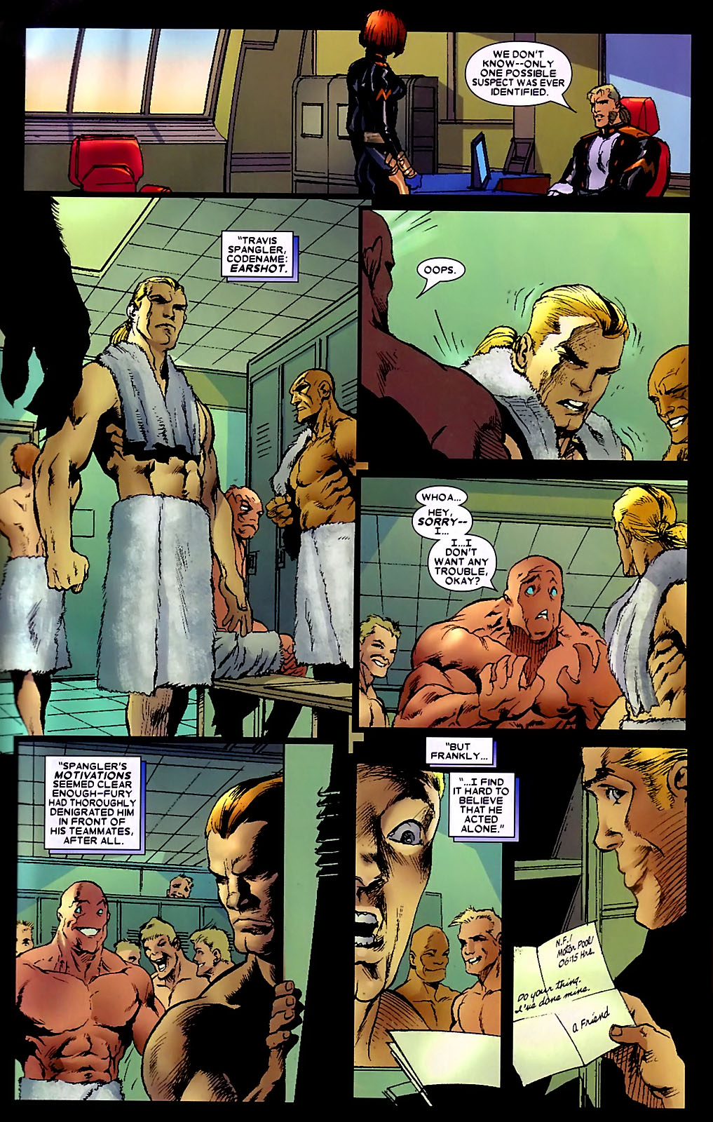 Read online Wolverine (2003) comic -  Issue #34 - 16