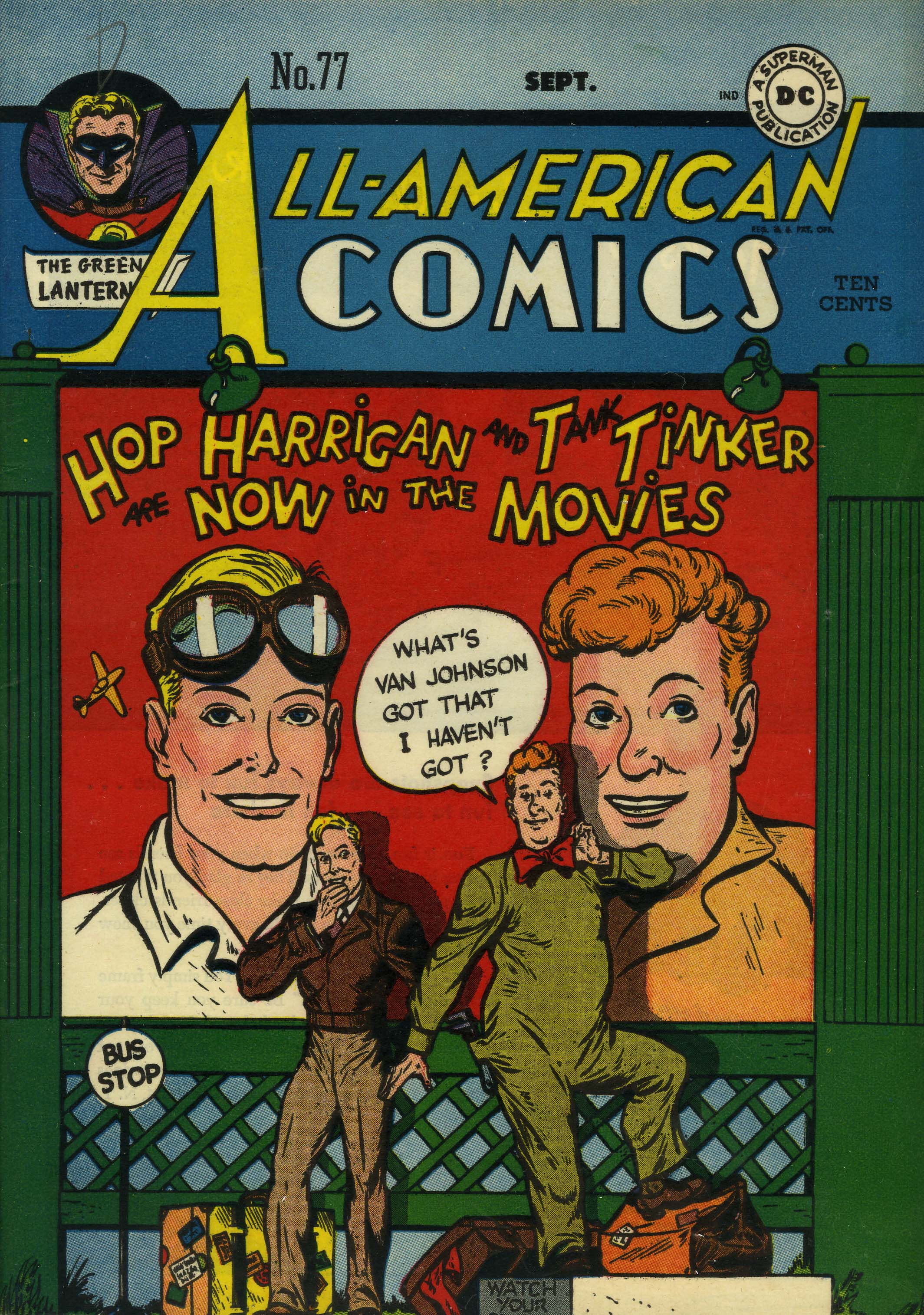 Read online All-American Comics (1939) comic -  Issue #77 - 1