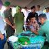 Ketua Persit Koorcab Rem 083/BDJ Buka Pasar Murah Dan Pengobatan Gratis