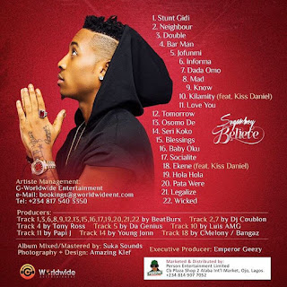 Full album: Sugarboy - Believe