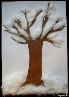 Drzewo zimą