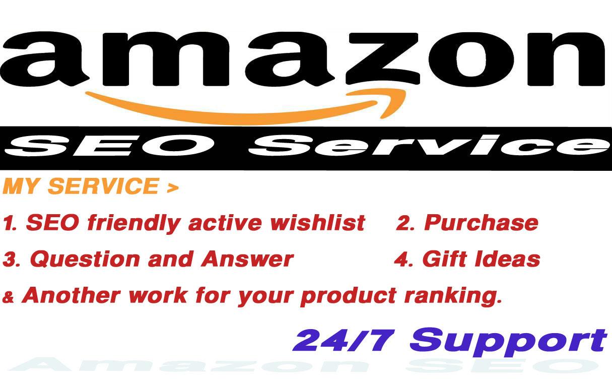 i will do amazon product ranking job
